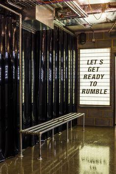 Studio C102 designs Underground 1Rebel Gym in London