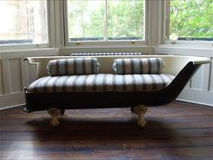 Vintage bath sofas and chaise longue