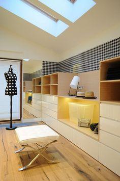 House In Myslowice - Picture gallery #architecture #interiordesign #wardrobe