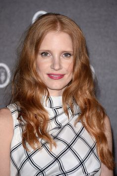 Jessica Chastain at Fondazione Nicola Trussardi Cocktail Party at 2013 Venice Biennale, May 2013.