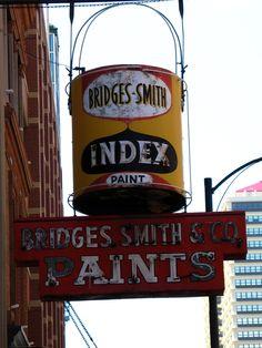 Bridges Smith & Co. Paints Since 1875, 118 - 122 E. Main St. Louisville, KY