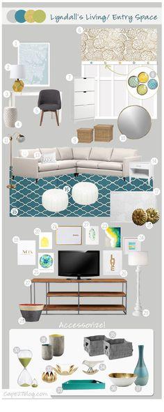 Cape27Blog: Living Room