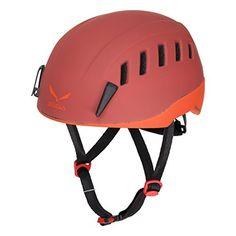 SALEWA Erwachsene Kletterhelm Helium Evo Helmet, Rot, 48…