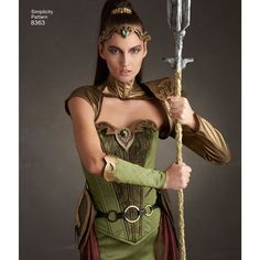 Firefly Path X Simplicity Pattern 8363 Signed Pattern image 3 Simplicity Sewing Patterns, Dress Sewing Patterns, Fantasy Costumes, Cosplay Costumes, Craft Foam Armor, Ranger Armor, Shoulder Armor, Costume Patterns, Costume Ideas
