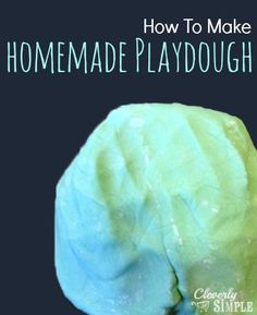 I was on the hunt for a great and simple playdough recipe. I have two young boys. And my two young boys love to play with playdough. Inevitably this playdough ends up dried out because a lid doesn't get put on tightly enough or the lid is left off all together. That's why when I …