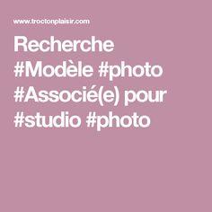 Recherche #Modèle #photo #Associé(e) pour #studio #photo