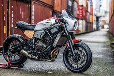 Yamaha XSR700 by Mathys Motos for 2016 Yamaha Yard Built