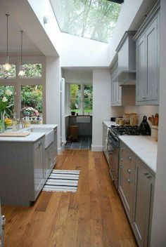 61 Ideas Natural Lighting Interior Glass Roof For 2019 Kitchen Living, New Kitchen, Kitchen Decor, Kitchen Modern, Decorating Kitchen, Kitchen Ideas, Decorating Ideas, Living Room, Kitchen Diner Extension