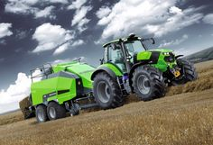 Tractors Deutz Fahr: The Deutz Fahr Tractocrs models employ innovative technology to cater for any application in all possible conditions. The perfect fusion of high performance mechanical and technical solutions.