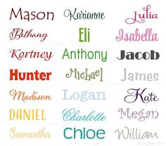 Custom Name Wall Decal • Extra Large Wall Decal • Personalize Wall Decal • Nursery, Bedroom, Boy, Girl, Playroom