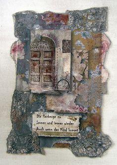 Die Herberge zu | Flickr - Photo Sharing! Sara Lechner textile haiku