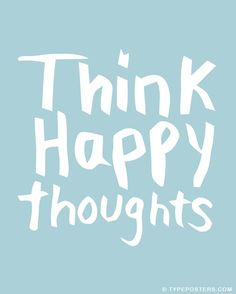 any happy little thought...