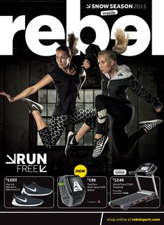 rebel Winter catalogue - Cover page
