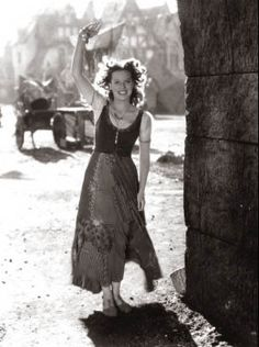 The Hunchback of Notre Dame, 1939. Maureen O'Hara 's Esmeralda