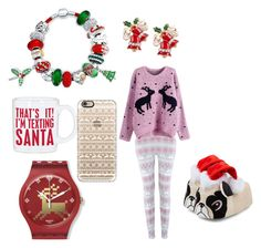 """""""Christmas perfect"""" by breeamyotte on Polyvore featuring Bling Jewelry, Primitives By Kathy and Casetify"""