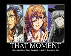 Grimmjow, Ren, and the Undertaker... I don't know what to do with this knowledge
