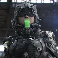 Deviant art et concepts militaire Deviant Art, Non Plus Ultra, Sci Fi Armor, Future Soldier, Cyberpunk Art, Cyberpunk 2020, Cyberpunk Character, Sci Fi Characters, Ghost In The Shell