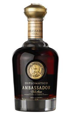Ambassador Diplomatico Rum | #bottledesign #packaging #rum