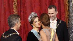 Todas las imágenes de la cena de gala de los Reyes, Macri y Juliana Awada
