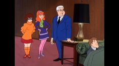 Just watching scooby doo and wondered what happened to Mr. Carswells other leg!!!!!!!