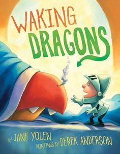 The simple text in this story goes through a small knight getting his dragons ready to face the day.  They wake up, brush their teeth, change clothes, etc.  This is a good book to teach kids that everyone has a morning routine - even dragons.