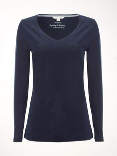 V neck Layer Jersey Tee