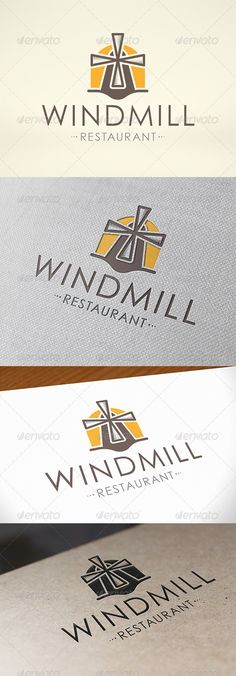 Mill Logo Design Template Vector #logotype Download it here:  http://graphicriver.net/item/mill-logo-template/6797248?s_rank=421?ref=nexion