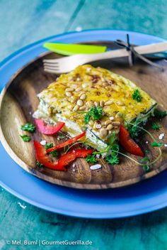 Low Carb Zucchini-Quark-Lasagne  GourmetGuerilla.de