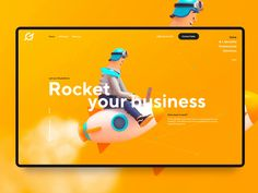 Resolute Landing Page Motion by Julien Renvoye for Voila on Dribbble Website Design Layout, Homepage Design, Best Web Design, App Design, Creative Design, Landing Page Design, Web Design Inspiration, Creative Inspiration, Design Ideas