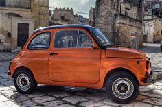 Fiat in Matera, Italy