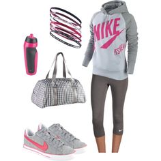 Nike style Comfy- beginning to like wearing workout clothes more regularly
