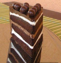 Chocolate truffle layer cake – Ukusni i zdravi recepti
