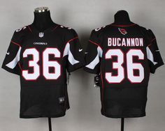 Cheap Wholesale 2014 Regular Season Mens Arizona Cardinals #36 Deone Bucannon Nike Black Elite Jersey Size 40-60 Instock,Factory Price,Free Shipping,Contact US