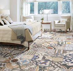 salon carreau ciment | Ideas | Pinterest | Living rooms and Room