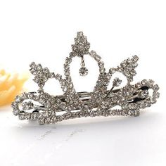 Fit-to-Kill  Pincess Diamond Crown hairpin