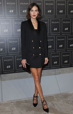 If your legs go on and on and on like Alexa Chung, trousers just aren't necessary.