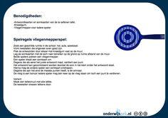 """Dankzij een wekelijkse e-mail (http://www.arteveldehogeschool.be/olo/ict/ICTTIPweb/index.htm)  die ik via onze school ontvang, ontdekte ik de volgende site uit Nederland waar fantastische ideeën op staan:  http://onderwijsgek.nl/index.html .  Je kan bij """"downloads"""" allerlei documenten/ideeën opslaan zoals het """"vliegenmepperspel"""" om rekenen wat leuker te maken."""