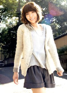Aki Toyosaki  Japanese voice actress Television Program, Girls Pants, Voice Actor, Mori Girl, Japanese Girl, Fashion Pants, Asian Beauty, The Voice, Pants Style