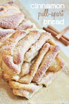 Cinnamon Pull-Apart Bread - Wow. Looks like some effort is involved, but goodness it looks yummy!