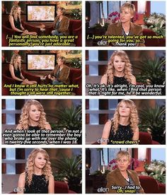 I'm not a big taylor fan but I love this!! That's a dick move to break up with someone like that!!
