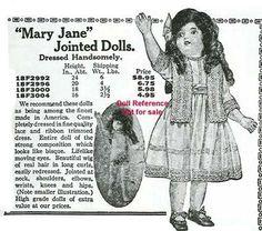 Sears Happi Time Dolls 1901-1967