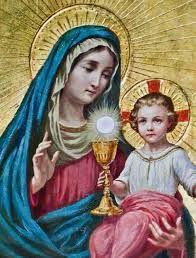 A devoção a Virgem Maria na comunhão eucarística