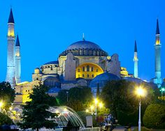 What was once THE Cathedral in Constantinople: Hagia Sophia, Instanbul, Turkey.