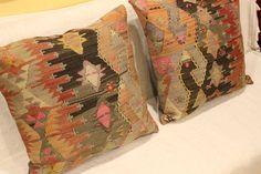 Kilim Pillow Cover Kayseri Kilim FREE by turkishkilimcenter