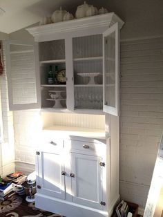 Kitchen Hutches For Small Kitchens We Re Quite Happy With The End Results Of The
