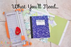 Up cycle composition books