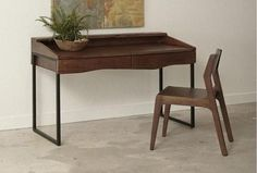 Acacia Writing Desk – Katy Furniture Home Office Desks, Writing Desk, Acacia, Furniture, Home Decor, Desktop, Decoration Home, Room Decor, Table Desk