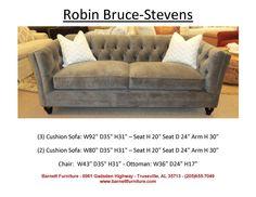Robin Bruce Stevens Sofa - LOVE this sofa! Barnett Furniture in Trussville