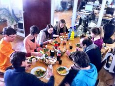 every wednesday, we organize a get together at our office and order some delicious food. it's a nice way of having a jour fixe in an unusual manner. it's great for ideas exchange and think thanks :) Manners, Delicious Food, Wednesday, Organize, Thankful, Organization, Nice, Ideas, Getting Organized