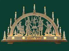 Schwibbogen Motiv Freiberg  Erzgebirge Weihnachten Lichterbogen Lichterspitze